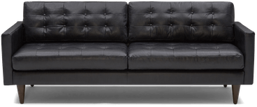 eliot leather sofa santiago steel