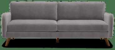 enzo sofa taylor felt grey