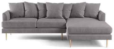 aime sectional taylor felt grey