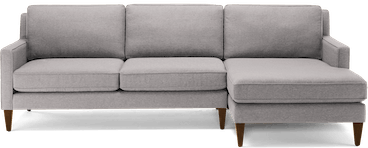 levi sectional taylor felt grey