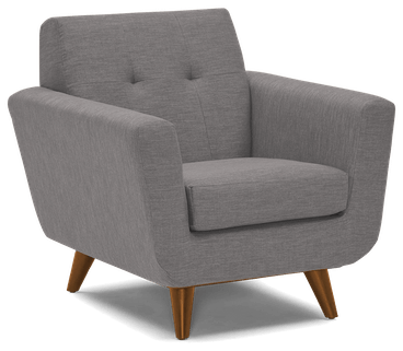 hughes apartment chair taylor felt grey