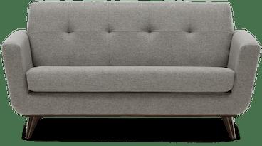 hughes apartment sofa taylor felt grey