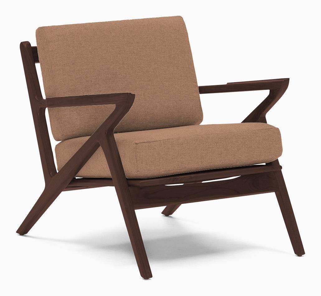 soto concave arm chair royale blush