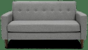 korver apartment sofa taylor felt grey