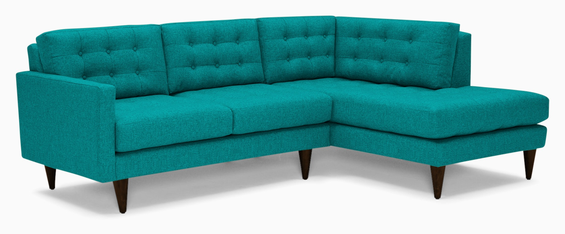 eliot apartment sectional with bumper taylor tonic