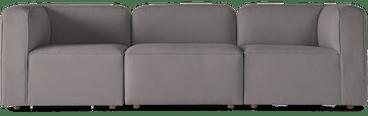logan modular sofa taylor felt grey