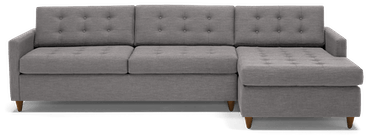 eliot sleeper sectional taylor felt grey