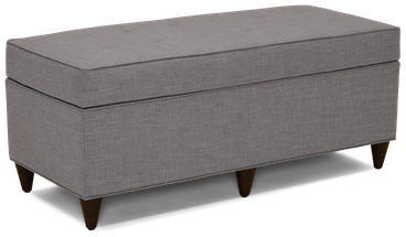 cammy bench with storage taylor felt grey