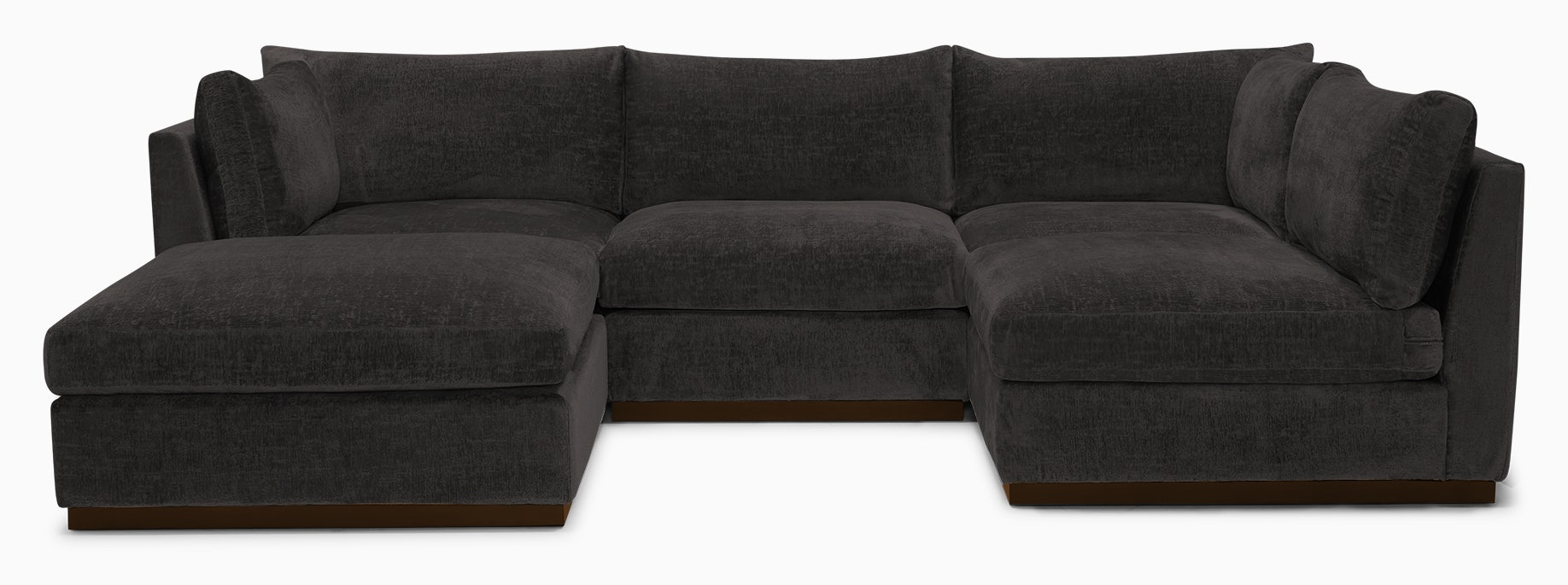 holt armless sofa sectional %285 piece%29 cordova eclipse