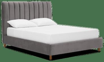 lotta bed taylor felt grey