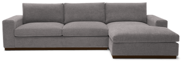 holt sectional taylor felt grey