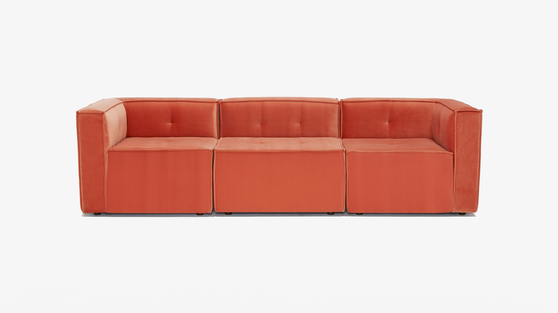 Matias Modular Sofa Sorrento Coral