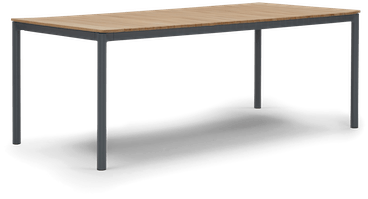 grey kinsey outdoor dining table