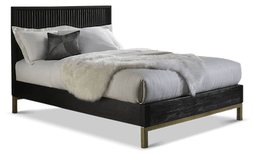 black eliza bed