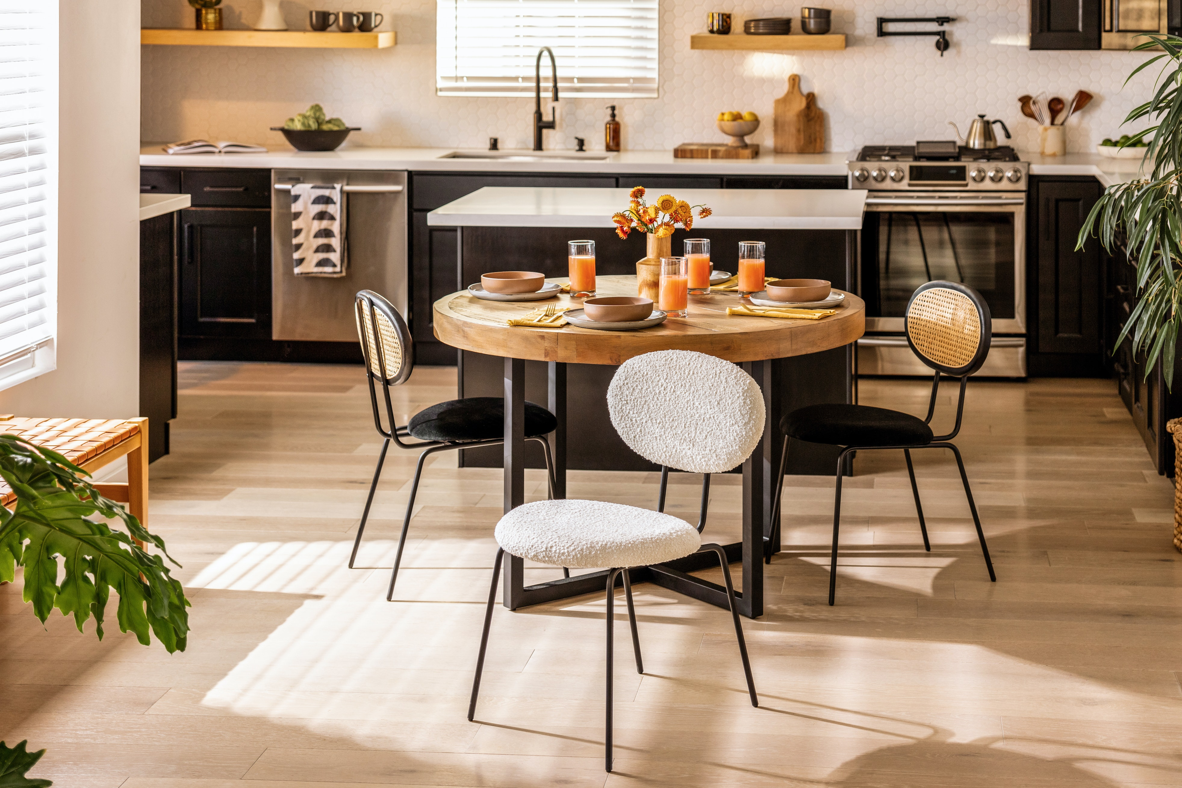 Willa dining chair white