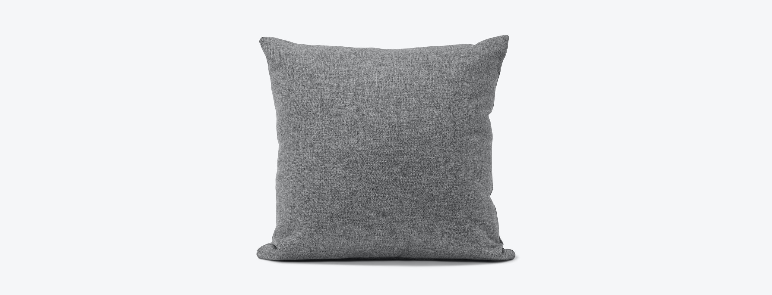 Decorative Knife Edge Pillow Taylor Felt Grey