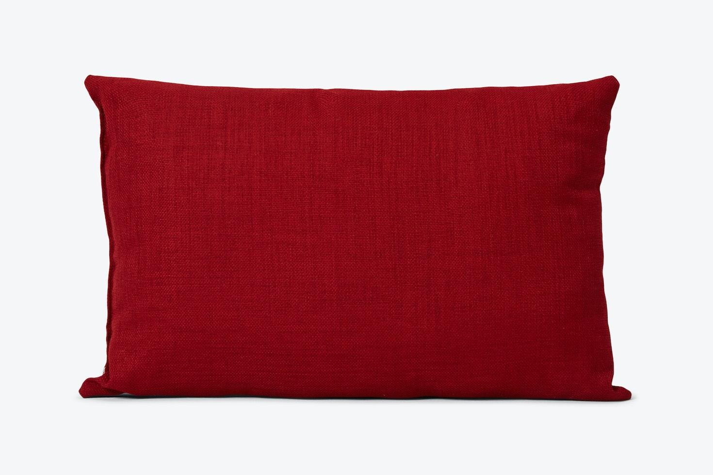 Mia Red Pillow
