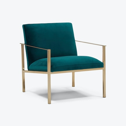 Orla Accent Chair Royale Peacock