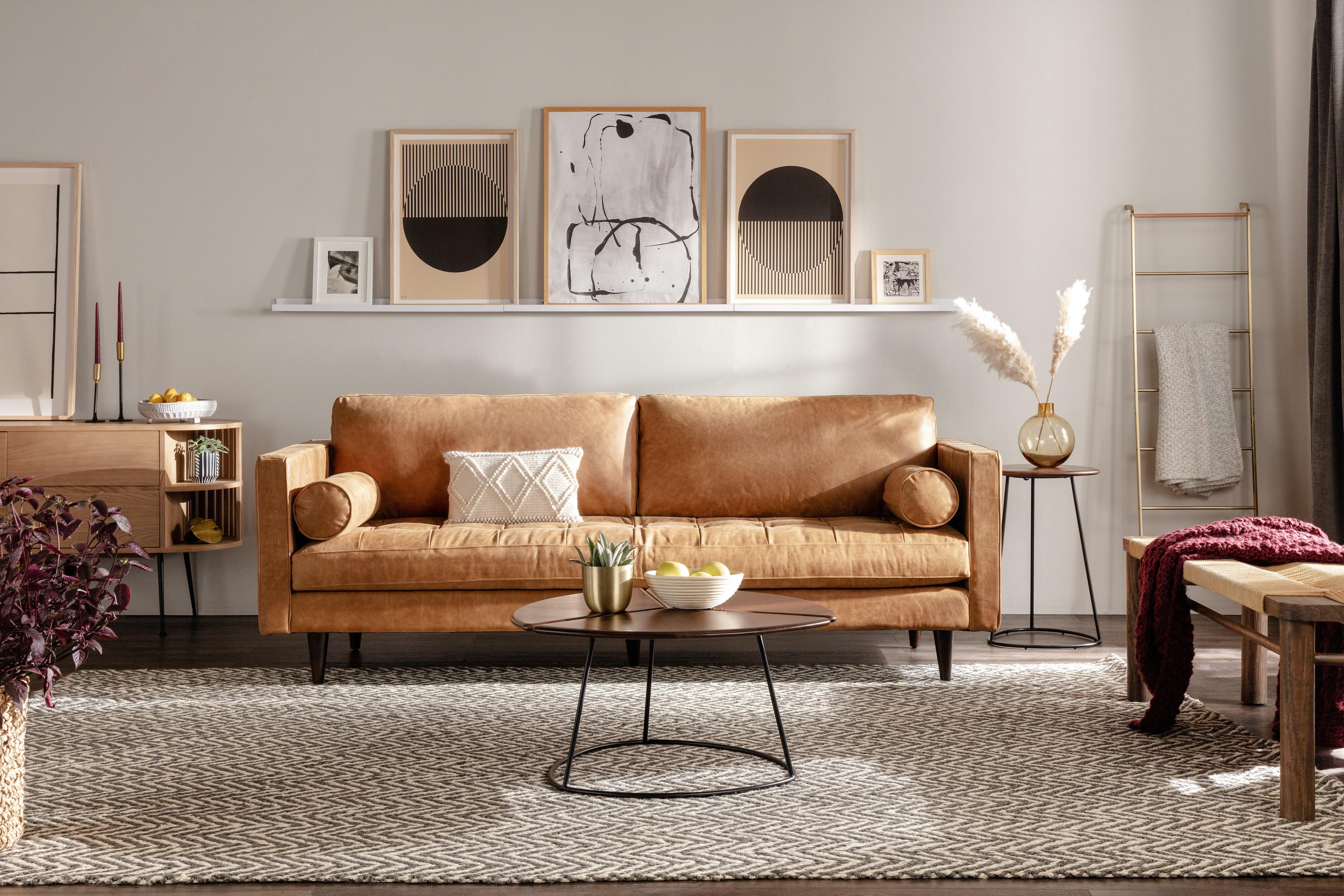 Briar sofa santiago camel