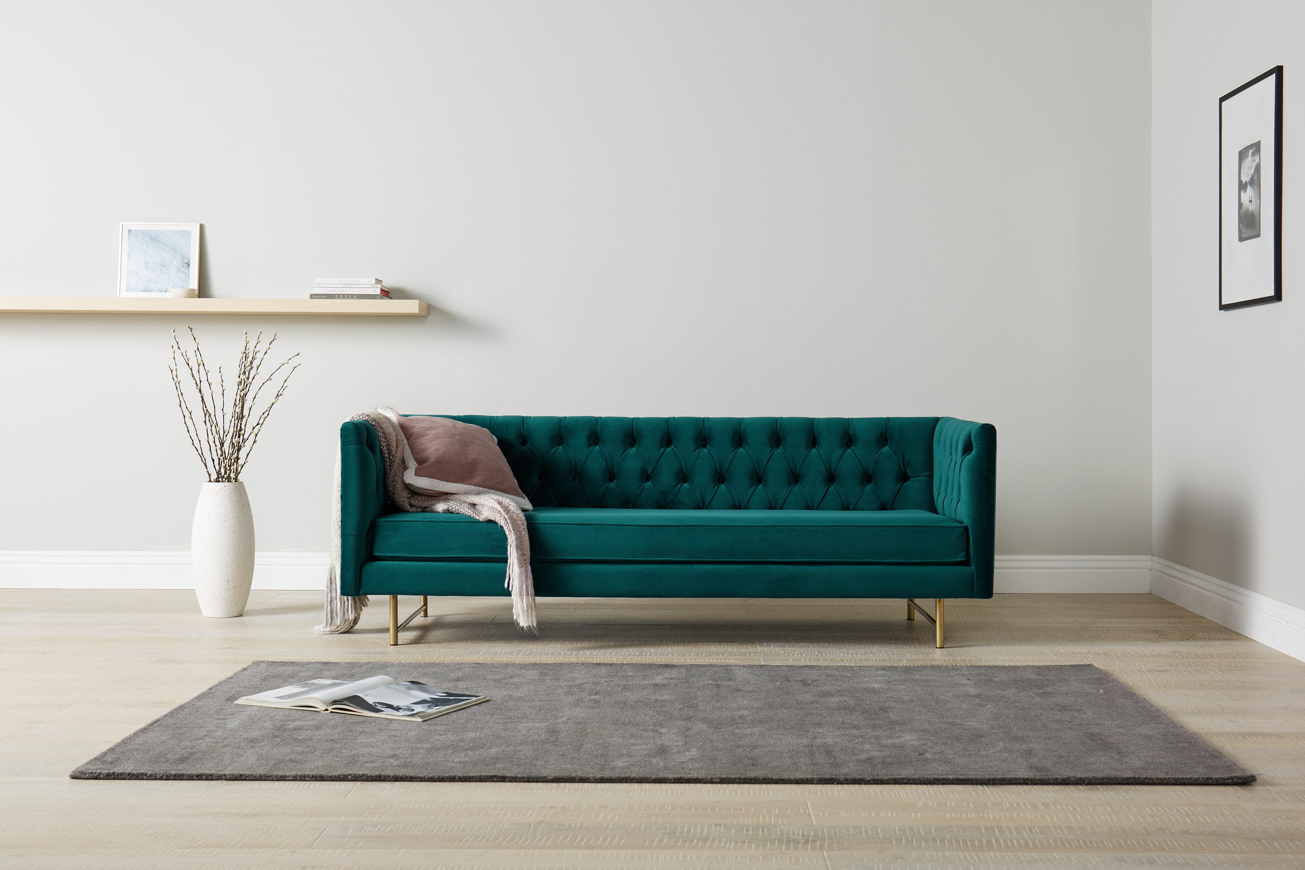 Eugene Sofa Royale Peacock