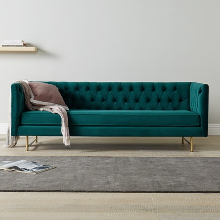 Eugene Sofa Royale Peacock