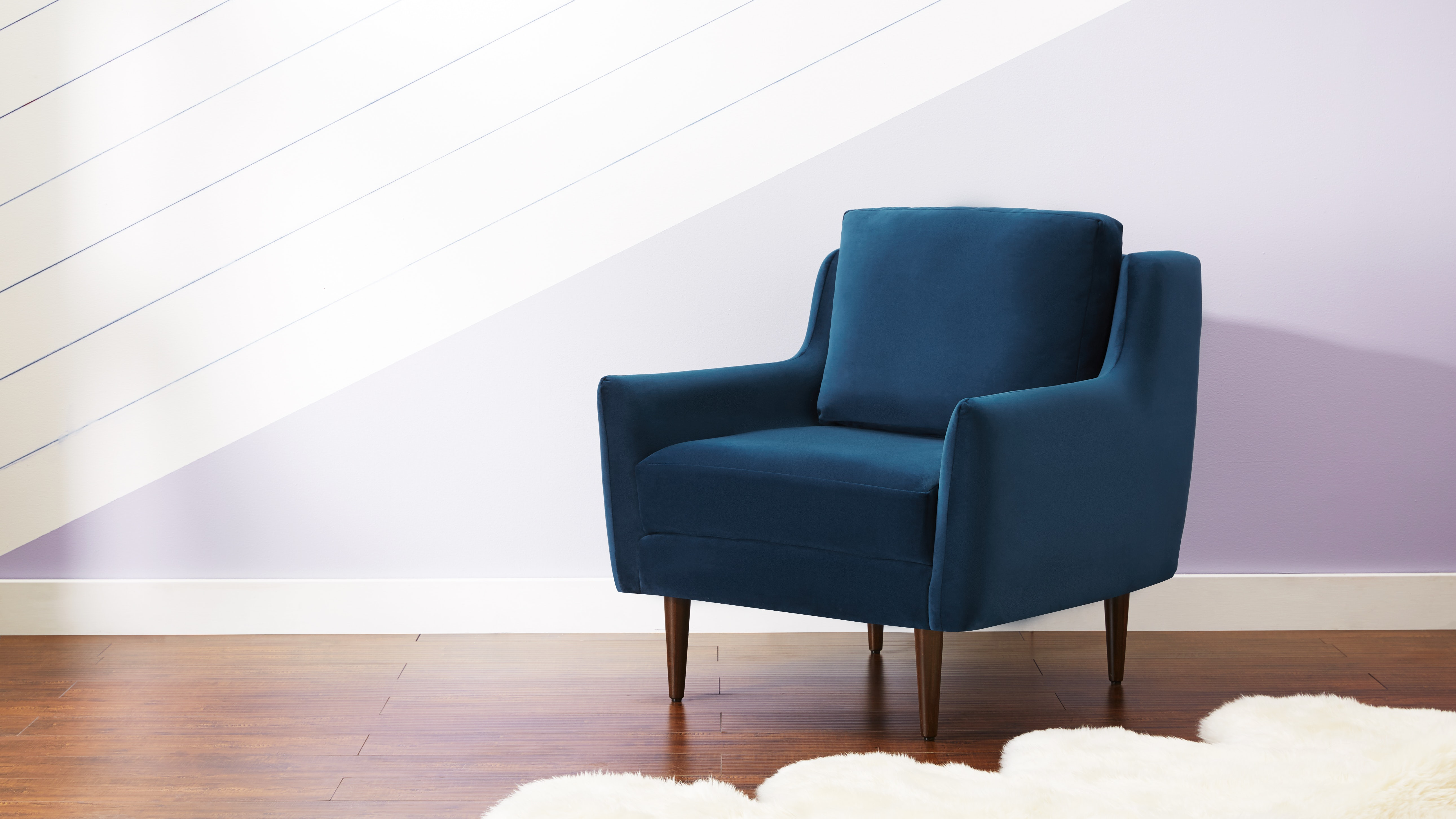 Bell Chair Royale Cobalt